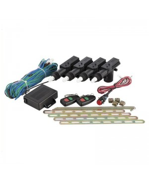 4 Door Remote Controlled Central Locking Kit, Kill Switch