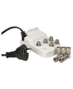 Kingray 4 Way Indoor TV Amplifier Splitter LT3287