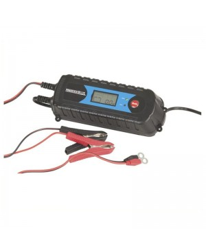 4 Stage 6/12V 4A Battery Charger, LCD Display