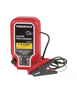 Powertech Electric Fence Energiser 10km 12VDC 85mA Animal