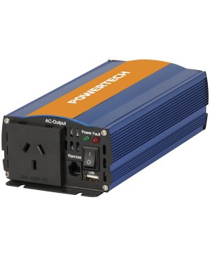 Powertech 500W 12VDC to 230VAC Pure Sine Wave Inverter,Electrical Isolate MI5734