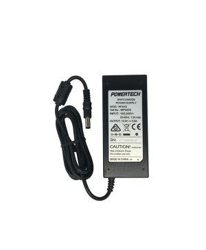 Powertech 12VDC 5A Desktop Power Supply, Fixed 2.1mm Plug For ELO 90 MP3233