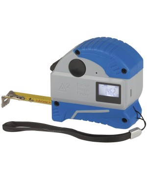 Protech 30m Laser Distance Meter with 5m Tape Measure QM1627
