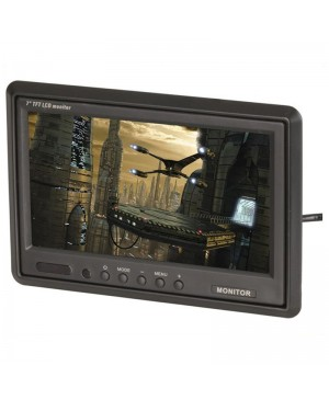178mm TFT LCD Widescreen Colour Monitor,IR Remote