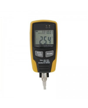 USB Temperature/Humidity Datalogger, LCD