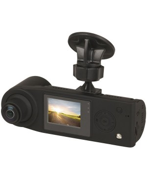 Nextech 360 Degree Dual 1080p Dash Camera with 1.5 Inch LCD Screen QV3866
