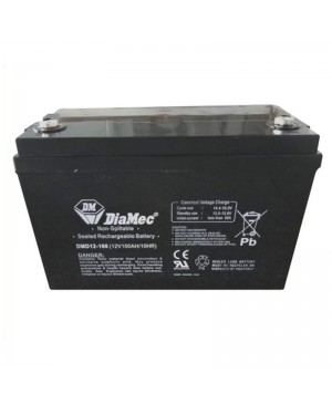 DiaMec 12V 100Ah AGM Deep Cycle Battery DMD12-100 SB1682