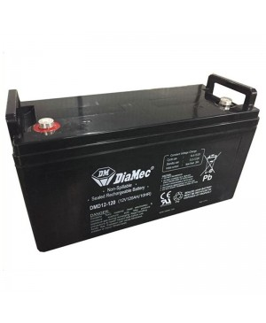 DiaMec 12V 120Ah AGM Deep Cycle Battery DMD12-120 SB1683