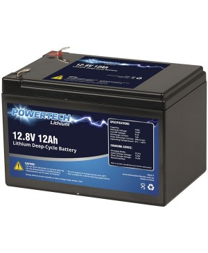 PowerTech 12.8V 12Ah Lithium Deep Cycle Battery SB2211