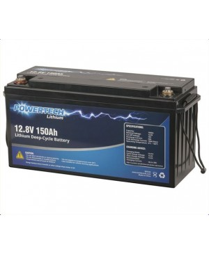 Powertech 12.8V 150Ah Lithium Deep Cycle Battery SB2244