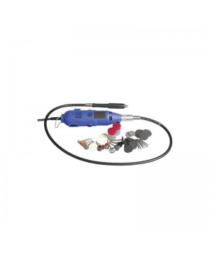 Rotary Tool Set,Flexible Shaft,210 Pieces, Mains Power