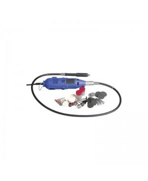 Digitech Rotary Tool Set,Flexible Shaft,210 Pieces, Mains Power TD2459