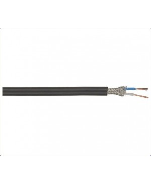 2 Core Screened Professional Microphone Cable, 100m Roll