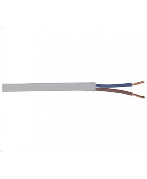 Figure 8 White AC Mains Cable, 100m Roll