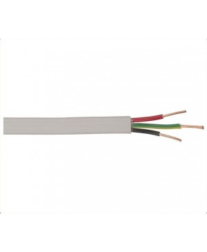 Mains 10A Twin and Earth Power Cable, 100m Roll