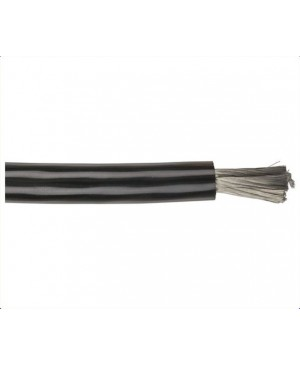 Black 2G Car Power Cable, 30m Roll
