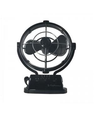 Sirocco 12-24VDC Gimbal Fan 178mm Three Speed Black