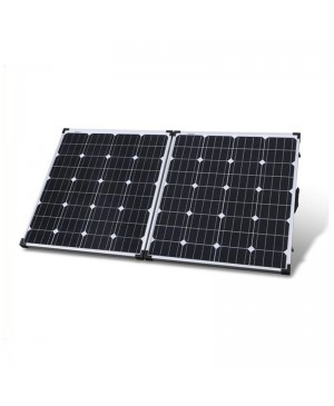Powertech 12V 160W Folding Solar Panel, 5M Lead ZM9178