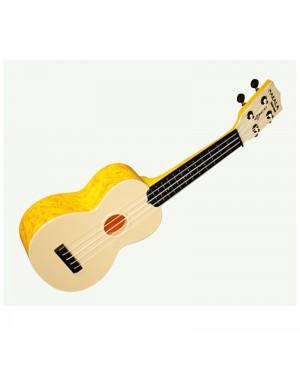 Kala Soprano Waterman Ukulele, Swirl Orange MK-SWS/OR