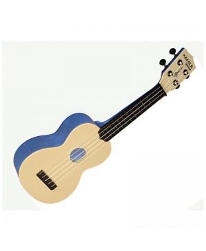 Kala Soprano Waterman Ukulele, Translucent Blue MK-SWT/BL