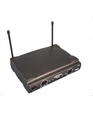 WM222 Wireless Microphone Base Station, 2 Channels, UHF