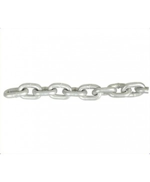 Short Link Chain Hot Dip Galvanised, 8mm, 33m MAC218