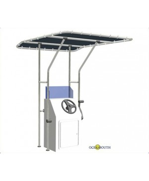 Oceansouth T-Top Centre Console Canopy, 1.7x1.4m MBG410