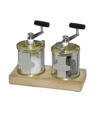 Fishing Reel Inspired Salt and Pepper Grinders MCC300