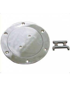 Metal Deck Plates, 208mm Stainless Steel