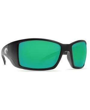 Costa Blackfin Sunglasses, Black Frame, 580G Green Mirror Lens BL 11 OGMGLP