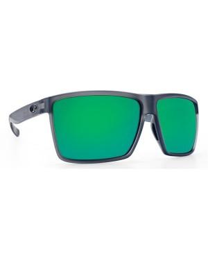 Costa Rincon Sunglasses, Smoke Frame, 580G Green Mirror Lens RIN 156 OGMGLP