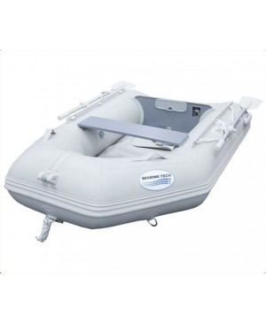 2.3M Inflatable PVC Boat, Air Deck, Grey MMA074