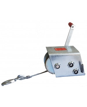 AL-KO Marine Winch, 3 Speed, 1200kg, 7.5m Cable 635015 WPM1200 MTI065