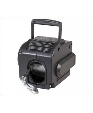 12 Volt 900kg Trailer Winch, Steel Cable MTI108