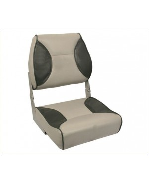 Deluxe Hi Back Seat, Grey/Charcoal