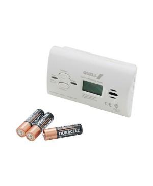 Quell Carbon Monoxide Gas Detector Alarm with Digital Display RGA336 130415