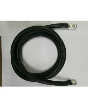 0 Gauge Tinned Battery Power Lead - Black - 233cm TEA898