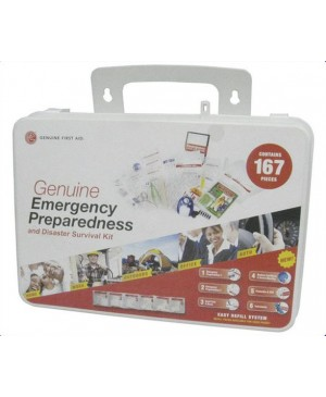 PRICE DROP:Emergency Preparedness First Aid Kit, 167 Pieces TSC450