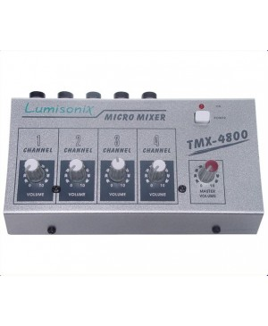 PRICE DROP:4 Input Microphone Mixer, Master Volume Control MM1401 A2620
