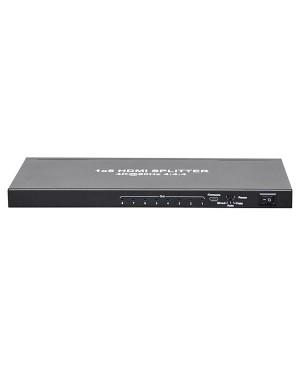 8 Way HDMI Splitter V2.0 18GBps Bandwidth A3136C
