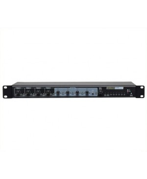 Redback 4+4 Channel Mixer With Wallplate Source Control A4432