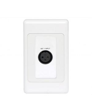 3 Pin XLR Line/Balanced Input UTP Balun Wallplate A4820