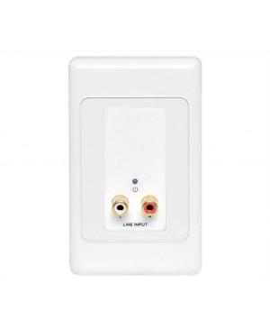 Stereo RCA Input UTP Balun Wallplate A4822