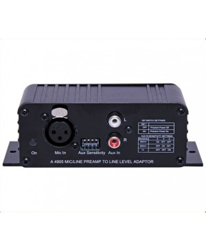 Redback Mic/Line Pre-Amplifier to Line Level Out Convert A4905