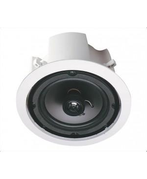 Opus One 16cm 35W 2 Way Round Backbox Ceiling Speaker Pair C0874