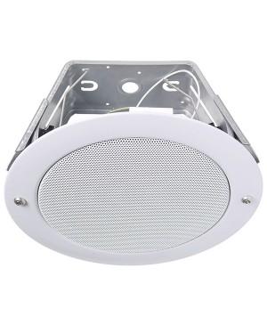 Redback 130mm 10W 100V EWIS Vandal Resistant Ceiling Speaker, EWIS C0887