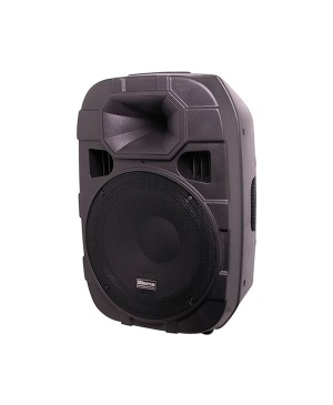 Biema 38cm 15 Inch 2 Way 450W Active Public Address PA Speaker C1010B
