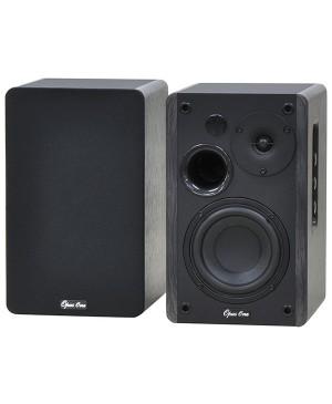 Opus One Bookshelf Bluetooth 50W Speaker Pair Black C5064