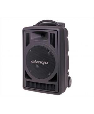 Okayo 120W 520-544MHz Dual UHF Wireless Portable PA System C7202C