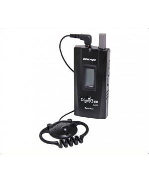 Okayo UHF Wireless Tour Guide System Receiver 60 Ch